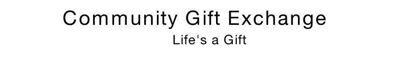 community gift exchange